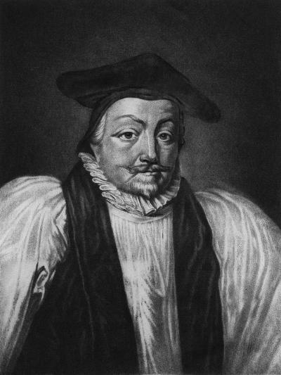 Archbishop William Laud (1573-1645) Illustration from 'Portraits of Characters Illustrious in Briti--Giclee Print