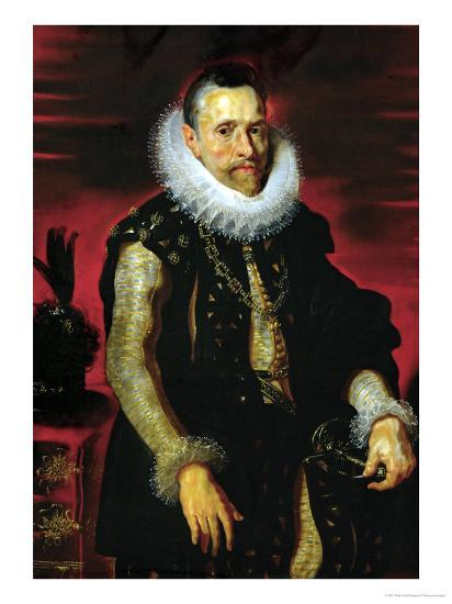 Archduke Albrecht VII (1559-1621), Governor of the Netherlands-Peter Paul Rubens-Giclee Print