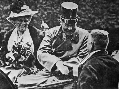 Archduke Franz Ferdinand and His Wife Sophie-Robert Hunt-Photographic Print