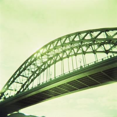 Arched Bridge Over River Tyne, Newcastle Upon Tyne, Tyne and Wear, England, United Kingdom, Europe-Lee Frost-Photographic Print
