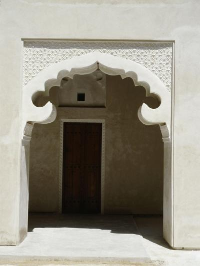 Arched Entrance Way of a Madrasah or Koranic School, Dubai--Giclee Print