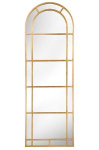 Arched Pier Mirror - Gold