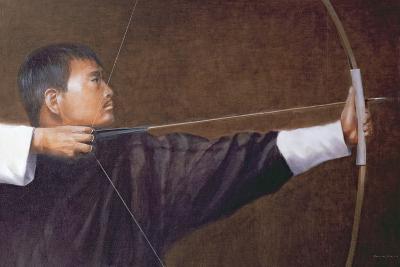 Archer, Bhutan-Lincoln Seligman-Giclee Print