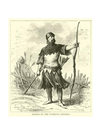 Archer of the Twelfth Century--Giclee Print