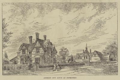 Archer's New House at Newmarket--Giclee Print
