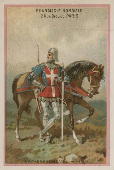 Archers on Horseback--Giclee Print