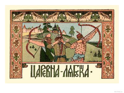 Archers-Ivan Bilibin-Art Print
