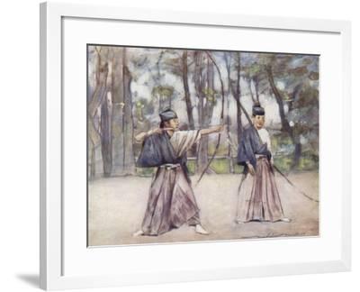 Archers-Mortimer Ludington Menpes-Framed Giclee Print