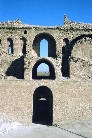 Arches, Fortress of Al Ukhaidir, Iraq, 1977-Vivienne Sharp-Photographic Print