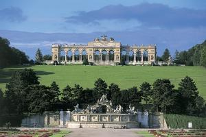 Arches in the Garden of a Palace, Schonbrunn Palace Garden, Schonbrunn Palace, Vienna, Austria