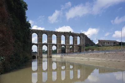 Arches of Aqueduct at Nepi--Giclee Print