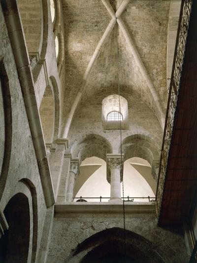 Arches of Virgin in Basilica of Holy Sepulchre or Church of Resurrection, Old City of Jerusalem--Photographic Print
