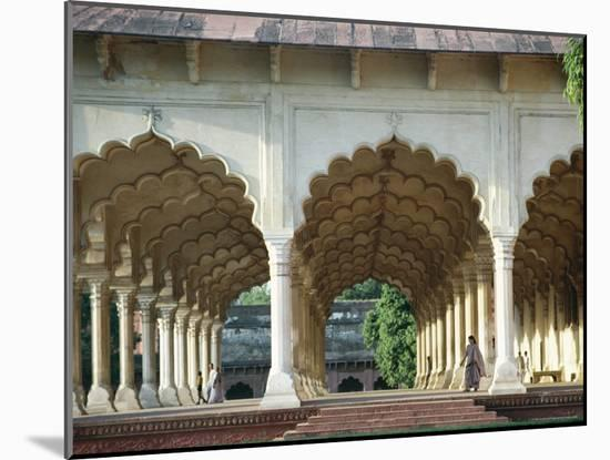 Arches, the Red Fort, Agra, Unesco World Heritage Site, Uttar Pradesh State, India, Asia-Occidor Ltd-Mounted Photographic Print