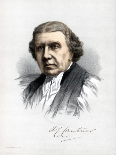 Archibald Campbell Tait, Archbishop of Canterbury, C1890-Petter & Galpin Cassell-Giclee Print
