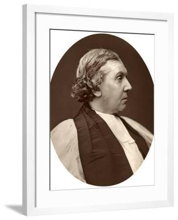 Archibald Campbell Tait, Dd, Archbishop of Canterbury, 1876-Lock & Whitfield-Framed Photographic Print