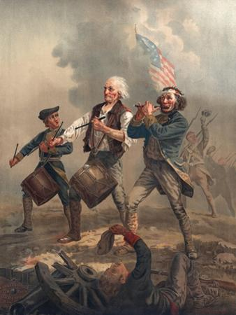 Yankee Doodle or the Spirit of '76, Published by J.F. Ryder after Archibald M. Willard