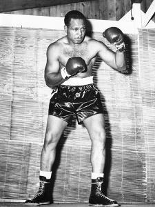 Archie Moore at Kenwood Camp, While Training for His Match with Rocky Marciano