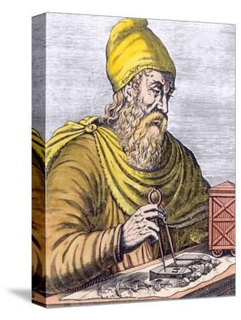 Archimedes (287-212 BC) (Later Colouration)