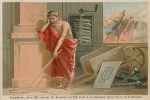 Archimedes, Greek Scientist, Mathematician and Inventor of the 3rd Century BC