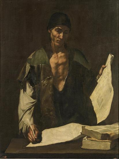 Archimedes-Jos? de Ribera-Giclee Print