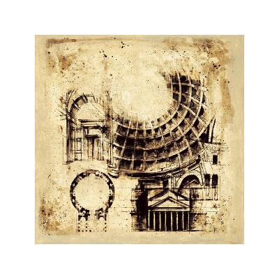 Architectorum II-Paul Panossian-Giclee Print