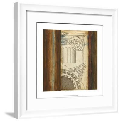 Architectural Archive II--Framed Art Print