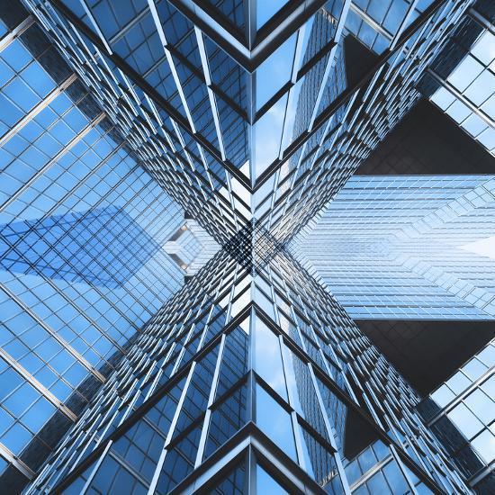 Architectural Blues-THE Studio-Photographic Print