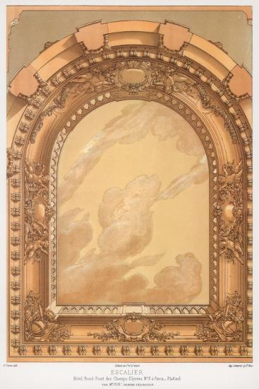 Architectural Detail, 19th Century-F Durin-Giclee Print