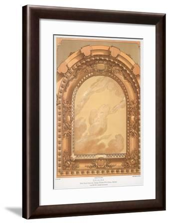 Architectural Detail, 19th Century-F Durin-Framed Giclee Print