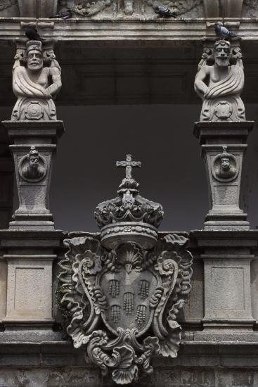 Architectural Detail from an Historic Building in Republic Square--Giclee Print
