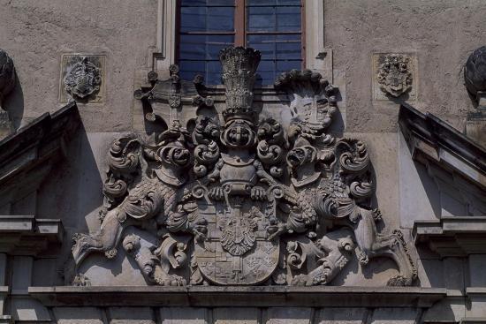 Architectural Detail from Bouzov Castle, Moravia, Czech Republic--Giclee Print
