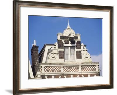 Architectural Detail from Building on Herengracht--Framed Giclee Print