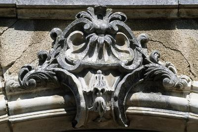 Architectural Detail from Chateau De Pommard, Burgundy, France--Giclee Print