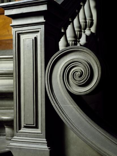Architectural Detail from Interior of Laurentian Library-Michelangelo Buonarroti-Giclee Print