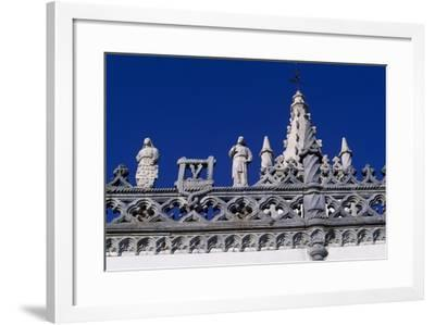Architectural Detail from Our Lady of the Conception Convent, Beja, Portugal--Framed Giclee Print