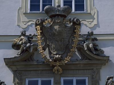 Architectural Detail from Valtice Castle--Photographic Print