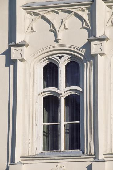 Architectural Detail from Window in Brunswick Castle, Martonvasar, Hungary--Giclee Print