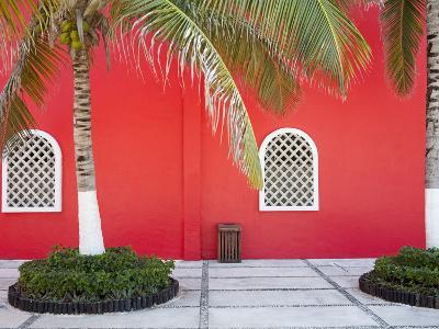 Architectural Detail in Costa Maya Port, Quintana Roo, Mexico, North America-Richard Cummins-Photographic Print