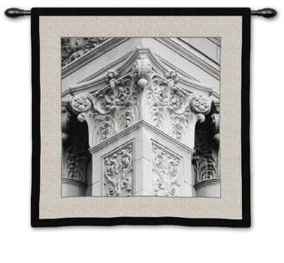 Architectural Detail IV-Boyce Watt-Wall Tapestry