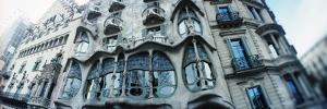 Architectural Detail of Building Built by the Catalan Architect Antoni Gaudi, Casa Batllo, Barce...