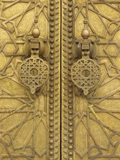 Architectural Detail, Royal Palace, Fez, Morocco, North Africa, Africa-Robert Harding-Photographic Print