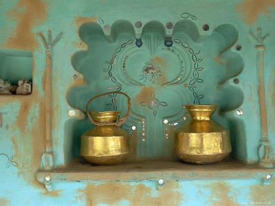 Architectural Detail, Tonk Region, Rajasthan, India-Bruno Morandi-Photographic Print