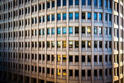Architectural Details of the Brandywine Building Taken in Downtown Wilmington, Delaware.-Jon Bilous-Photographic Print