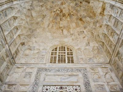 Architectural details, Taj Mahal, Agra, India-Adam Jones-Photographic Print