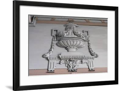 Architectural Marble Frieze, St Paul's Abbey--Framed Giclee Print