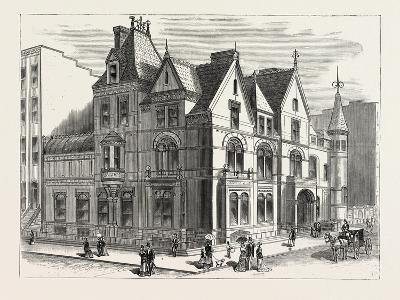 Architectural Progress of New York: Residence of Frederick W. Stevens--Giclee Print
