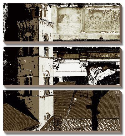 Architectural Renaissance II-Noah Li-Leger-Canvas Art Set