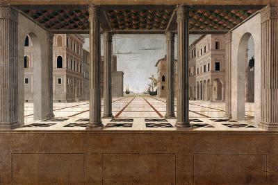 Architectural Veduta, C. 1490-Francesco di Giorgio Martini-Giclee Print