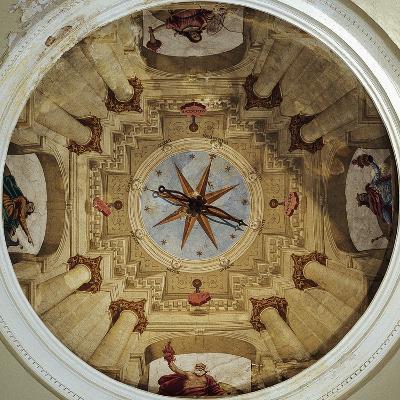Architectural View, 1650-Luca Ferrari-Giclee Print