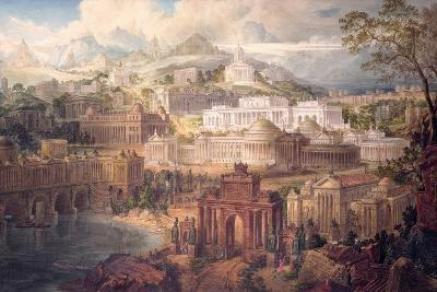 Architectural Visions of Early Fancy, in the Gay Morning of Youth, and Dreams in the Evening of…-Joseph Michael Gandy-Giclee Print